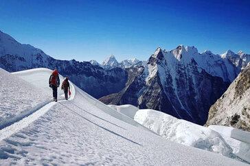 Island Peak Climbing with EBC